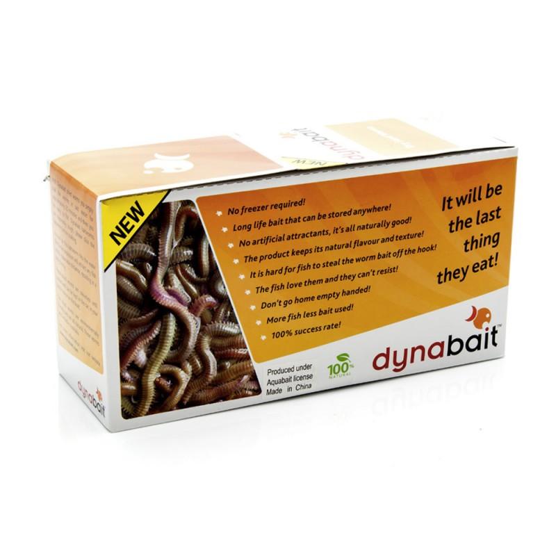 Dynabait Dry Sandworms, Box 20 - M8787B